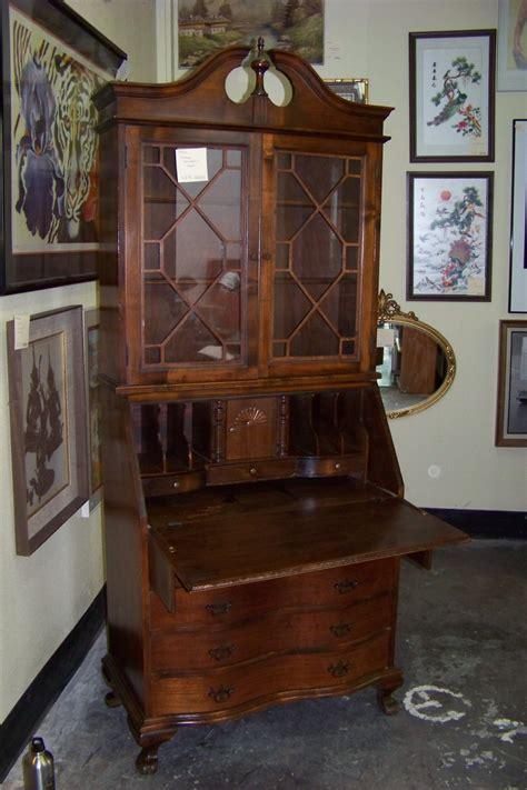small antique secretary desk home decor for small homes homedecoringideas us