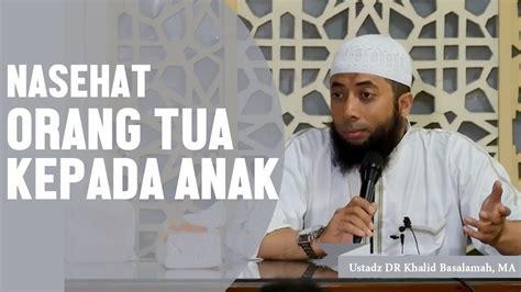 nasehat islami  tua  putrinya   menikah