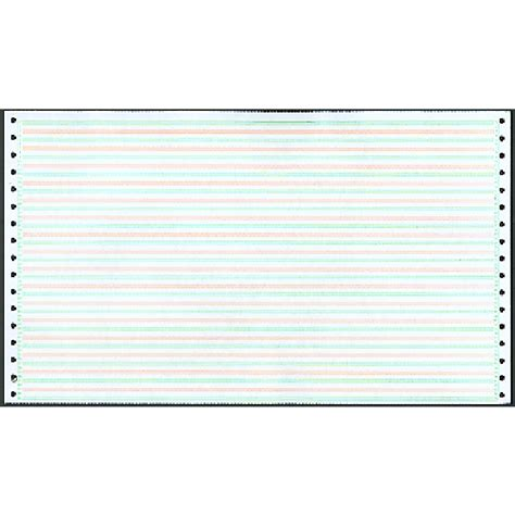 printable dot matrix paper tractor feed paper computer paper pin feed paper
