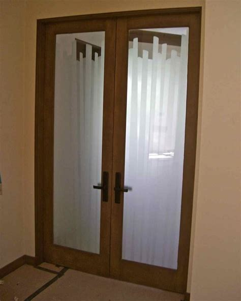 Frosted Interior Door by Interior Glass Doors With Obscure Frosted Glass