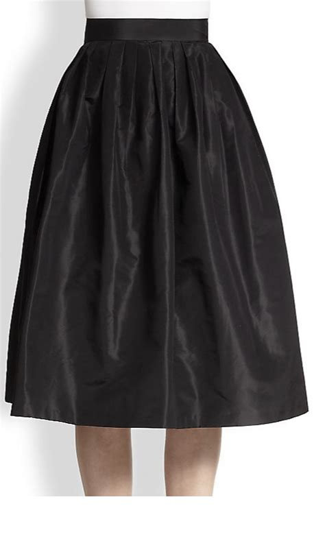 satin pleated skirt elizabeth s custom skirts