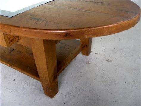 Rustic Oval Coffee Table Rustic Oval Coffee Table With Drawers Ecustomfinishes