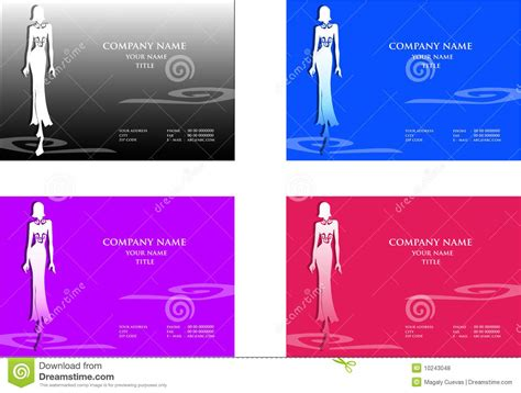 fashion business cards royalty free stock photos image