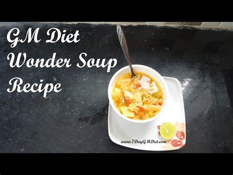 Gm Detox Soup by Is Cabbage Diet Effective Cabbage Soup Detox Recipe C