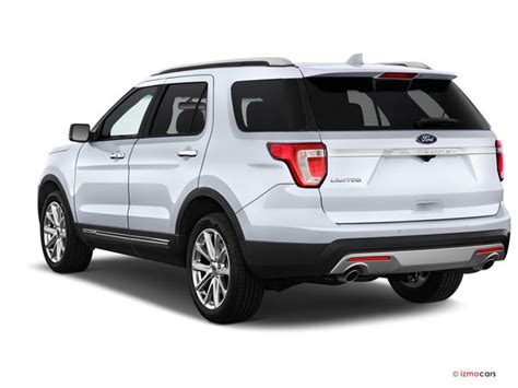 2017 Ford Explorer by 2017 Ford Explorer Base 4wd Specs And Features U S News