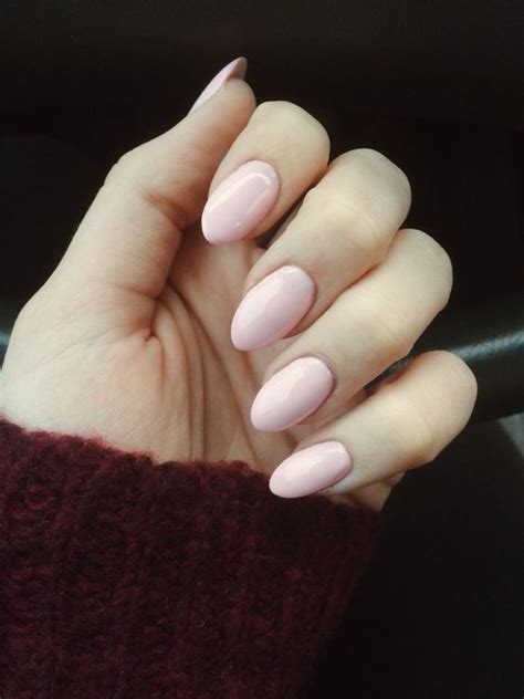 almond nails look of almond nails and almond pink acrylic nails instagram amandabork