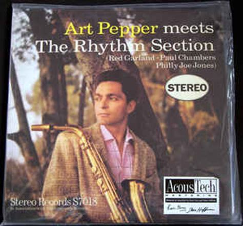 art pepper meets the rhythm section art pepper meets the rhythm section vinyl lp album