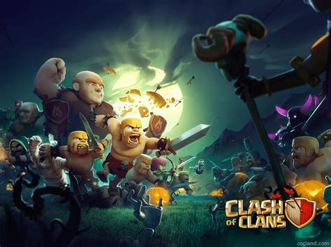 Kaos Anime Coc Clash Of Clans Clash Royal Android clash of clans wallpapers wallpaper cave