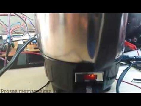 Coffee Maker Otomatis pemanas air otomatis berbasis microkontroller