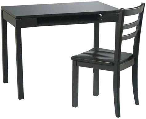 Office Desk And Chair Set Black Office Desks For Home And Office