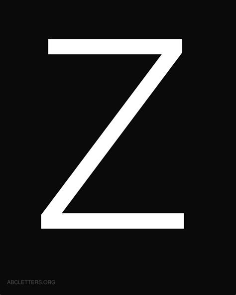 Letter Z gallery for gt black letter z