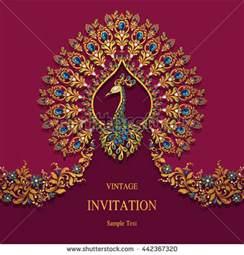 indian wedding invitation stock images royalty free