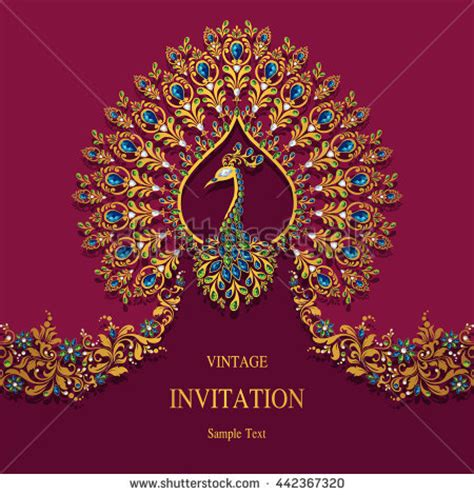 hindu wedding card graphics indian wedding stock images royalty free images vectors