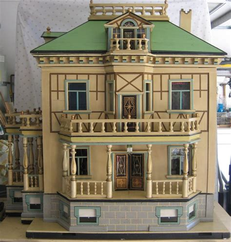 german doll house antique german christian hacker mansion dolls house ebay