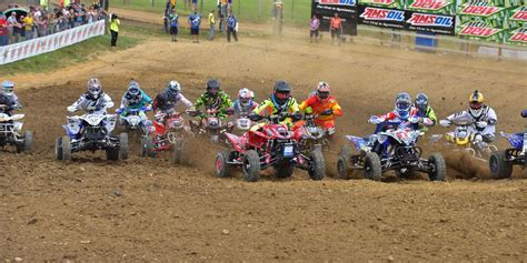 ama atv motocross schedule ama atv motocross chionship announces extended