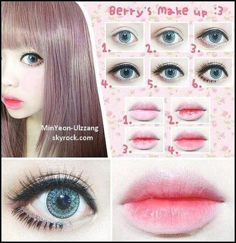 tutorial makeup kawaii pinterest the world s catalog of ideas