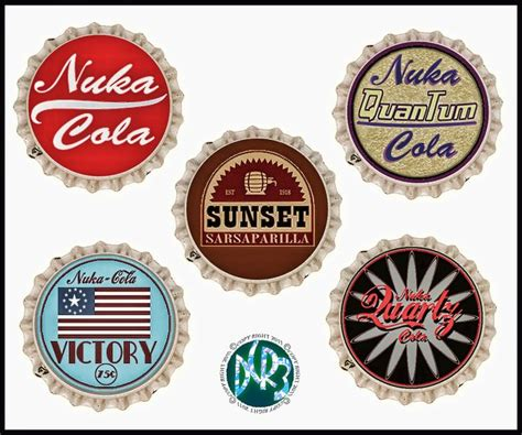 nuka cola bottle cap template 17 best images about nuka cola on fallout