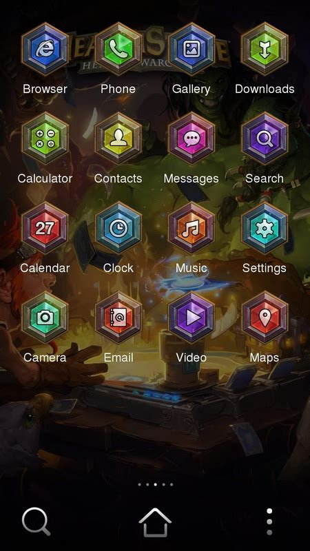 Theme Google Hearthstone | hearthstone theme free android theme download download
