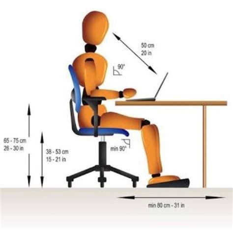 what is the standard office chair height quora