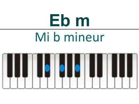 grille accord piano accords piano mi b 233 mol e b ou d