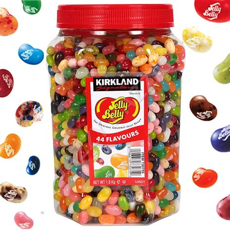 Original Thistime Brand 01 jelly belly beans 1 8kg bulk 44 flavours original usa