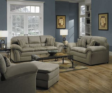 w living room sage microfiber living room w decorative pillows by simmons