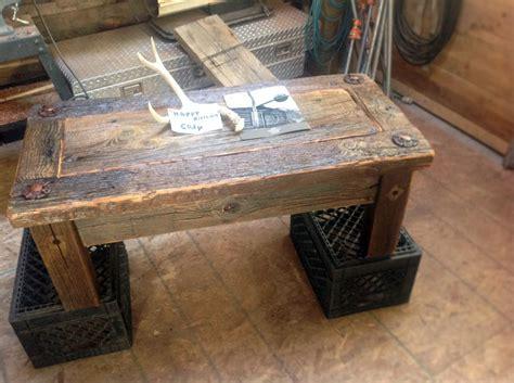 Refurbished Coffee Table Refurbished Industrial Coffee Table Bearcreek Woodworks