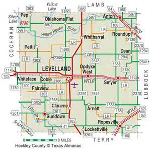 map of levelland hockley county the handbook of state