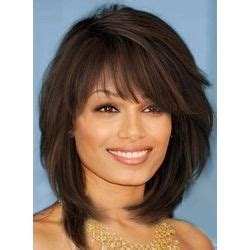 pics of hair with vertical layers sweet layered bob hairstyle mid lenght straight capless