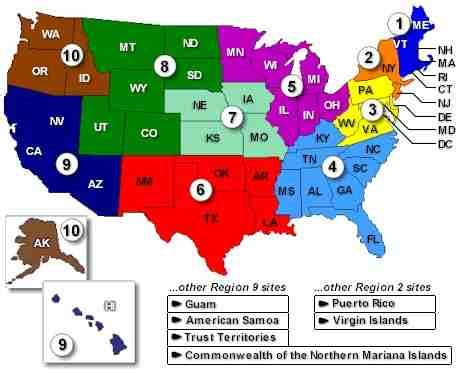 map of us states by region maps united states map divided into regions