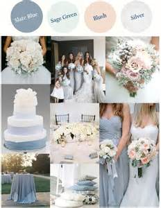 blue wedding colors slate blue or dusty blue with light green blush and