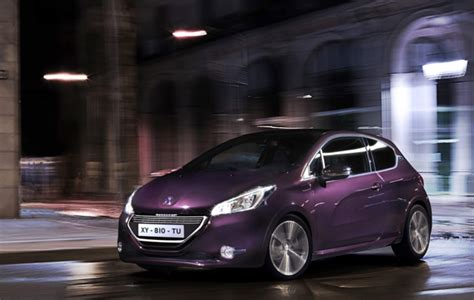 peugeot purple peugeot s 208 purple phase scotcars