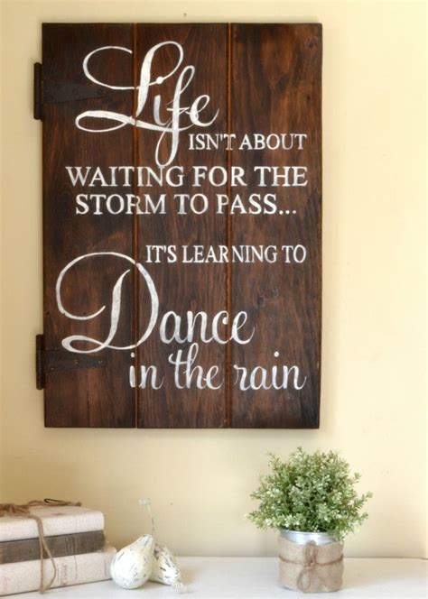 25 unique wood signs sayings ideas on home