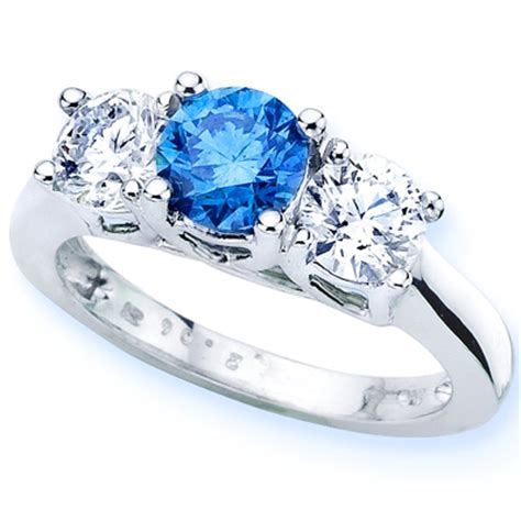 Picture Of A Blue Ring blue jewelry jewellery in
