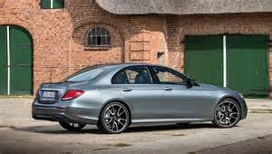 Driving the mercedes benz e class wagon and amg e43 in germany