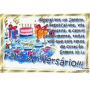 Mensagens Evang&233licas De Anivers&225rio  Cart&245es