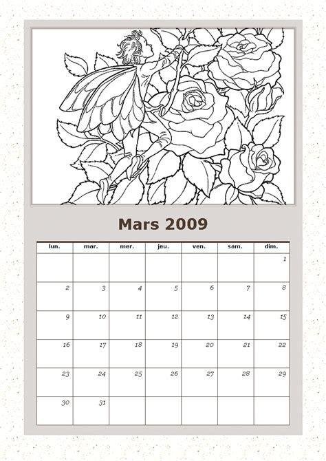 Calendrier Mars 2009 Les Cahiers De Valeska Page 54