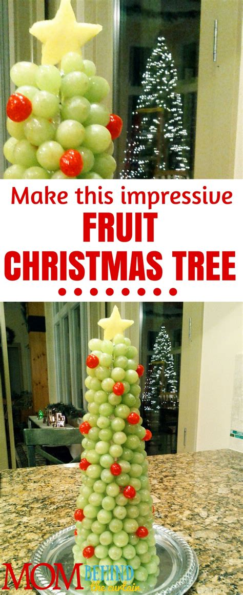 most impressive 3 d chistmas display an impressive 3d fruit display a grape and cherry tree the curtain