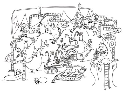 coloring pages christmas detailed christmas scenes coloring pages az coloring pages