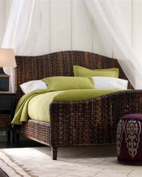 rattan schlafzimmer 30 rattanbetten in the bedroom why not interior