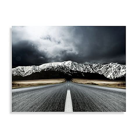 bed bath and beyond paintings open road center panel wall art bed bath beyond
