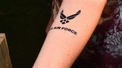 us air force tattoo policy air starts new policy