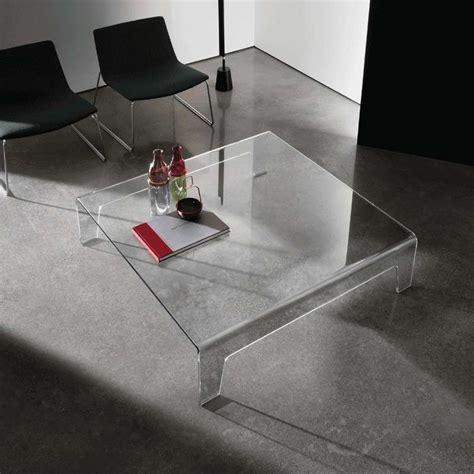 table basse design carr 233 e en verre frog sovet 174 4 pieds