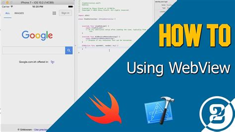 tutorial xcode webview how to using webview in xcode 8 swift 3 youtube