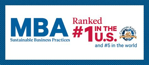 Duquesne Mba Sustainability Ranking by Mba Program Palumbo Donahue School Of Business