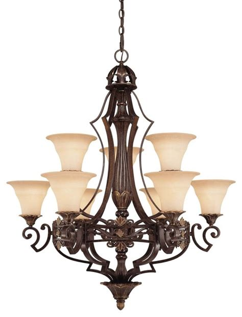 Mediterranean Chandelier Southerby 9 Light Chandelier Mediterranean Chandeliers By Bludot