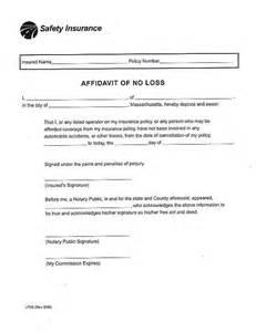 affidavit of loss template affidavit form pdf images