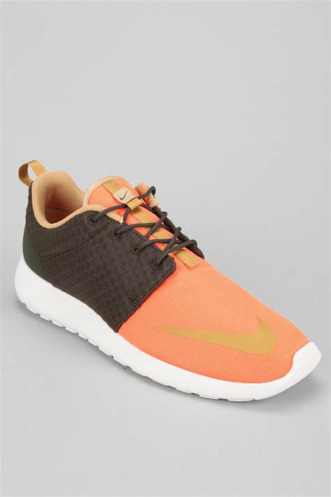 sneaker outfitters outfitters nike roshe run sneaker in orange for