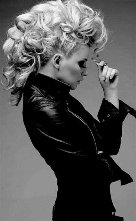 rock and roll womens hair 25 exquisite curly mohawk hairstyles for girls women