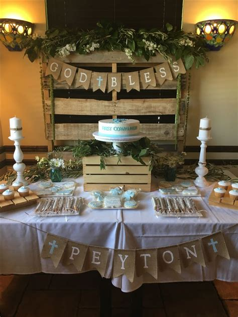25 best ideas about communion centerpieces on